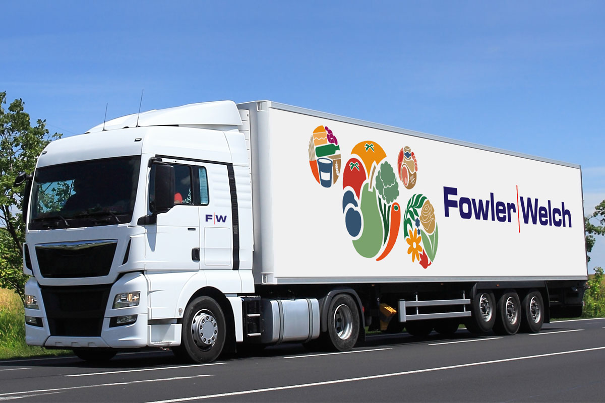 Fowler Welch Lorry Illustration